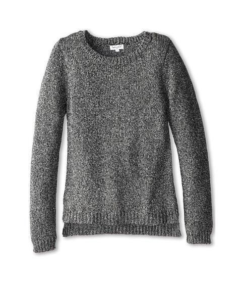 Splendid Littles - Lurex Sweatshirt (Big Kids) (Black) Girl