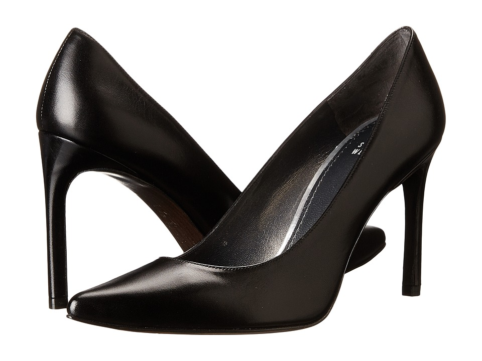 Stuart Weitzman - Heist (Black Kid) High Heels