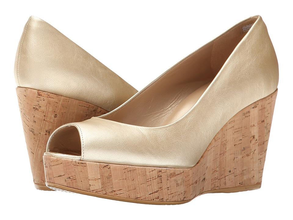 Stuart Weitzman - Anna (Sun Washed Nappa) Women's Wedge Shoes