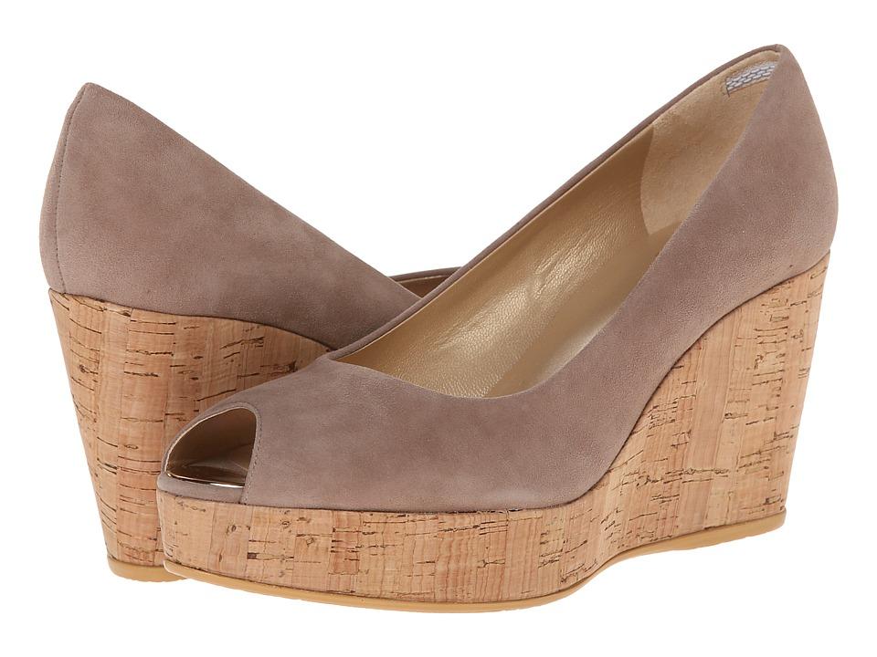 Stuart Weitzman - Anna (Haze Suede) Women's Wedge Shoes