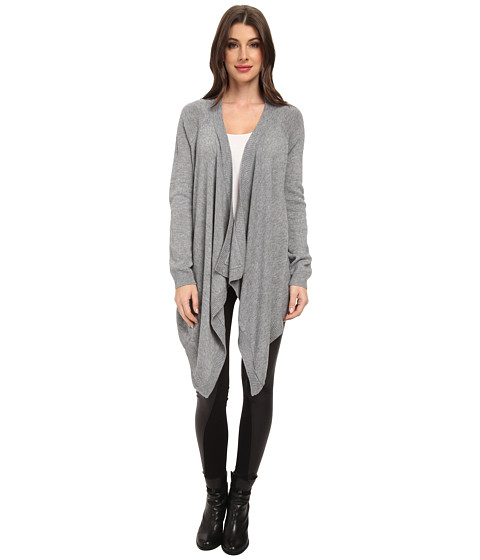 BCBGMAXAZRIA - Pamella Cardigan (Heather Grey) Women's Sweater