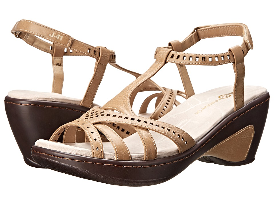 J-41 - Claire (Nude) Women's Wedge Shoes