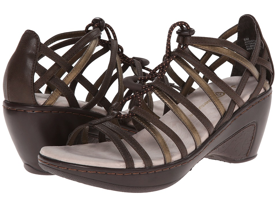 J-41 - Augustine (Brown) Women's Wedge Shoes
