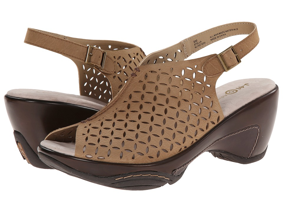 J-41 - Stella (Taupe) Women's Wedge Shoes