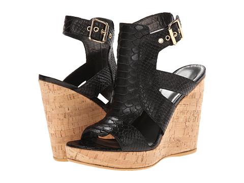 Stuart Weitzman - Safety (Black King Cobra) Women