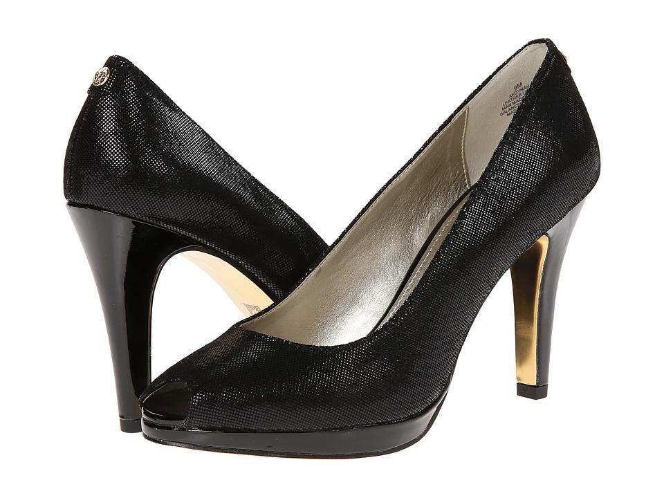 Anne Klein - AKDynah (Black Reptile) High Heels