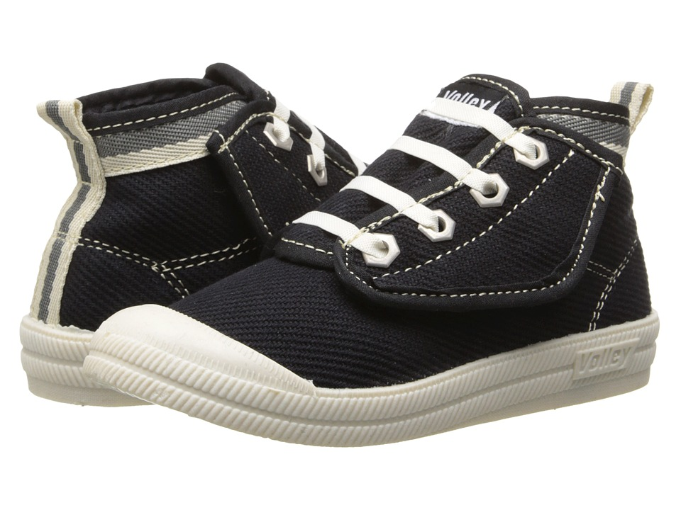 Volley Australia - Winterized Hi Leap (Toddler/Little Kid) (Black/Charcoal) Athletic Shoes