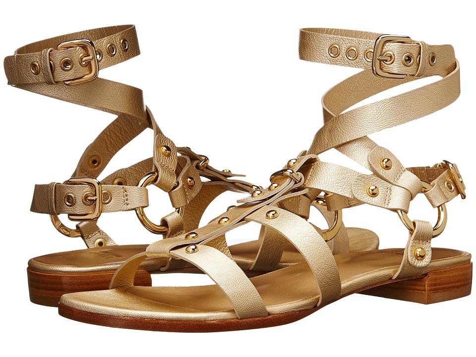 Stuart Weitzman - Ontherun (Sun Washed Napped) Women's Dress Sandals