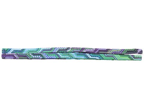 Prana - Printed Double Headband (Cool Green Ibiza) Headband