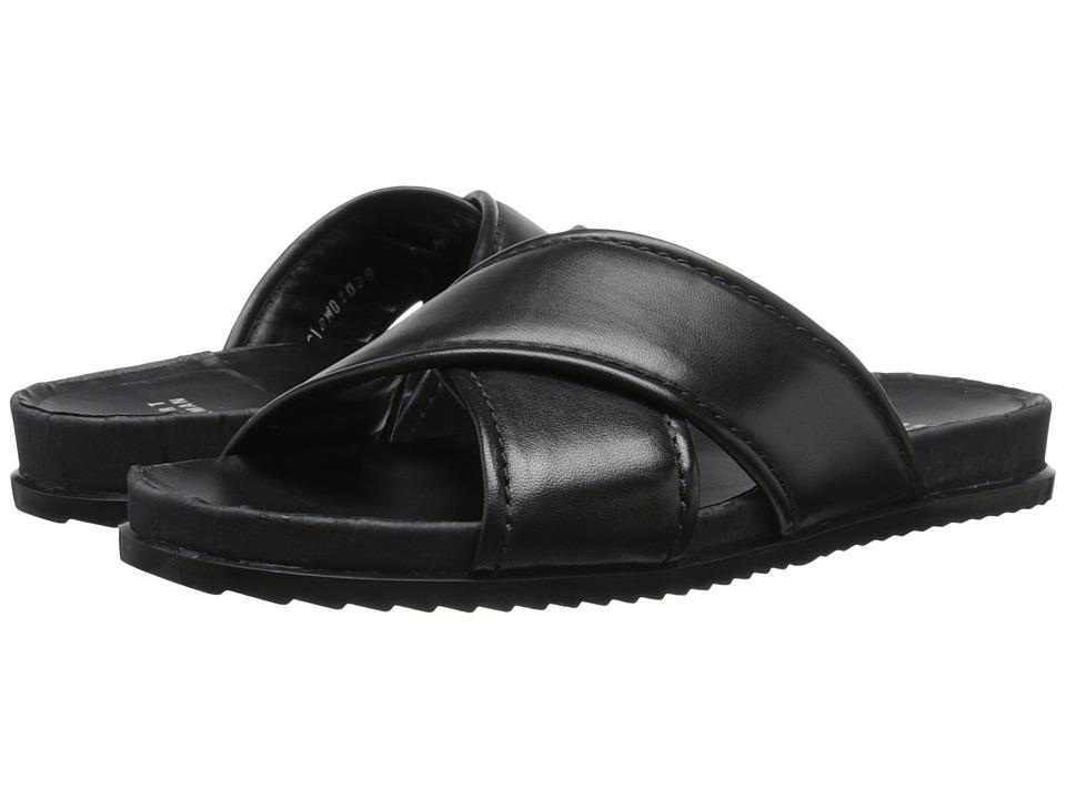 Stuart Weitzman - Spa (Black Nappa Leather) Women