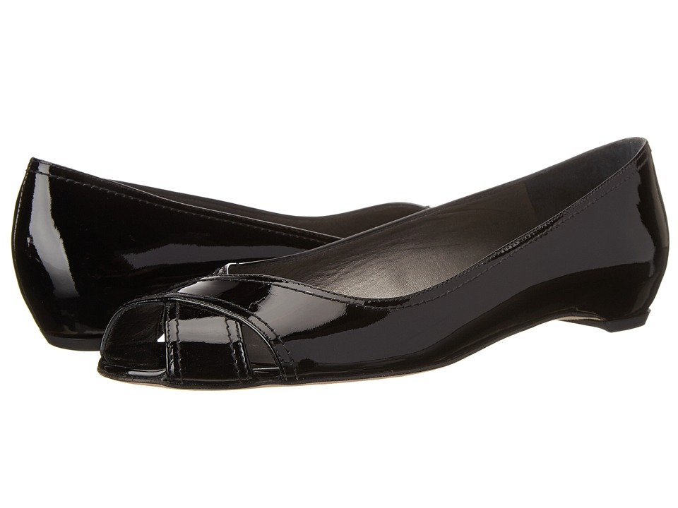 Stuart Weitzman - Exflat (Black Patent) Women's Shoes