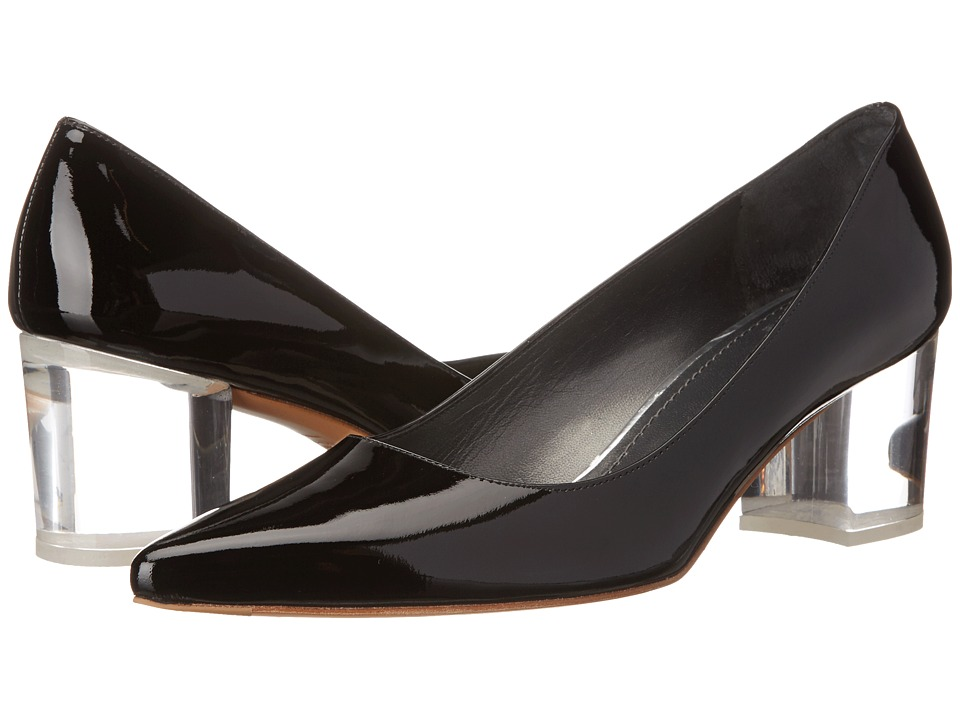 Stuart Weitzman - Firstclass (Black Patent) High Heels