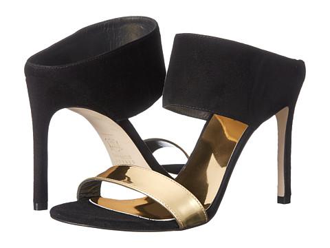 Stuart Weitzman - Myslide (Black Suede) High Heels