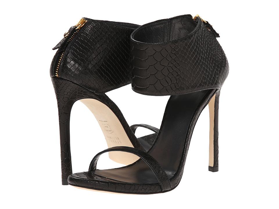 Stuart Weitzman Showgirl (Black King Cocro) High Heels