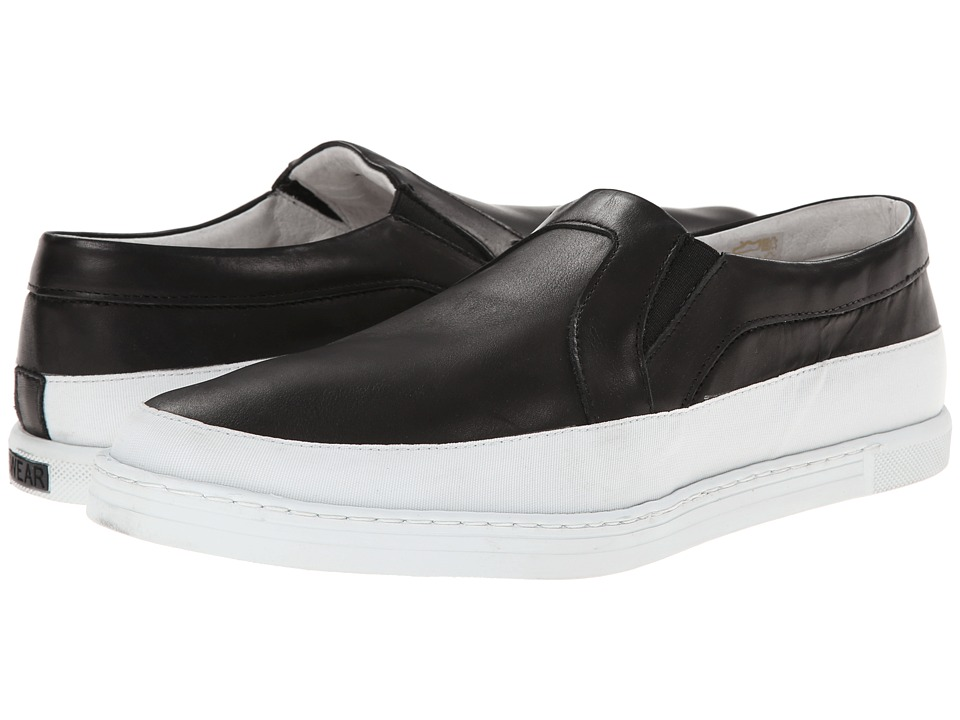 SWEAR - Earl 4 (Black Leather/White Nylon) Shoes