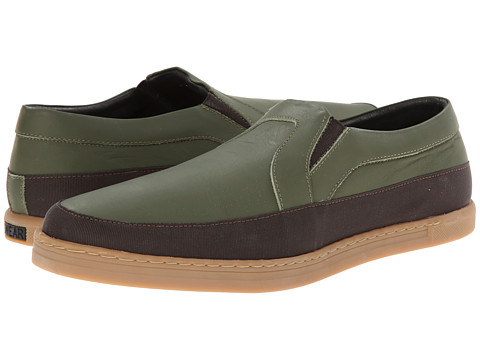 SWEAR - Earl 4 (Khaki Rubber/Brown Nylon) Shoes