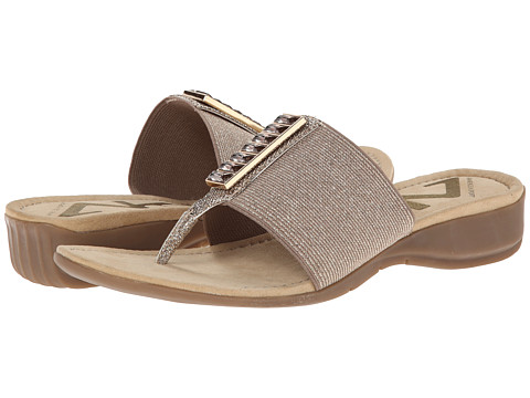 Anne Klein - AKSport Knowhow (Light Bronze) Women's Sandals