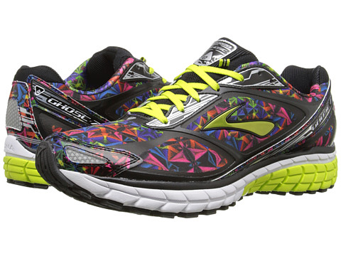 Brooks - Ghost 7 (Kaleidoscope/Black/Lime Punch) Men's Running Shoes