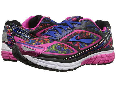 Brooks - Ghost 7 (Kaleidoscope/Fuchsia Purple/Surf The Web) Women's Running Shoes
