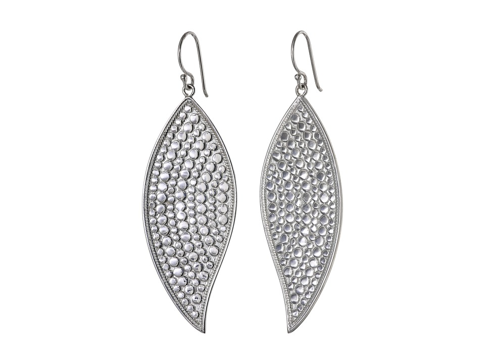 Anna Beck - Leaf Earrings (Sterling Silver) Earring
