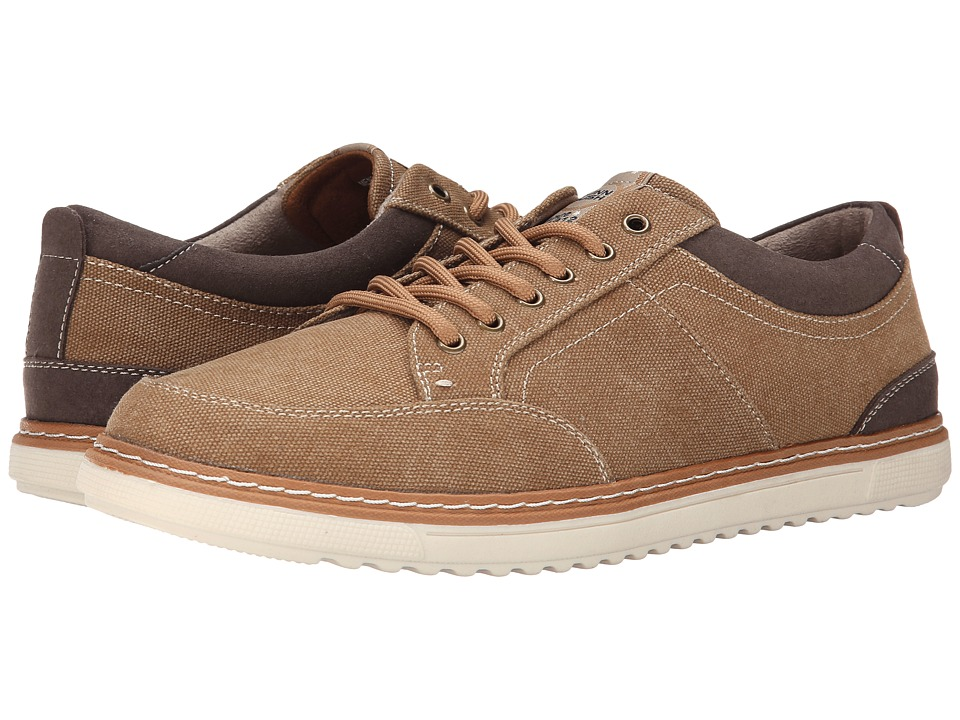 Nunn Bush - Anthony (Taupe) Men's Lace up casual Shoes