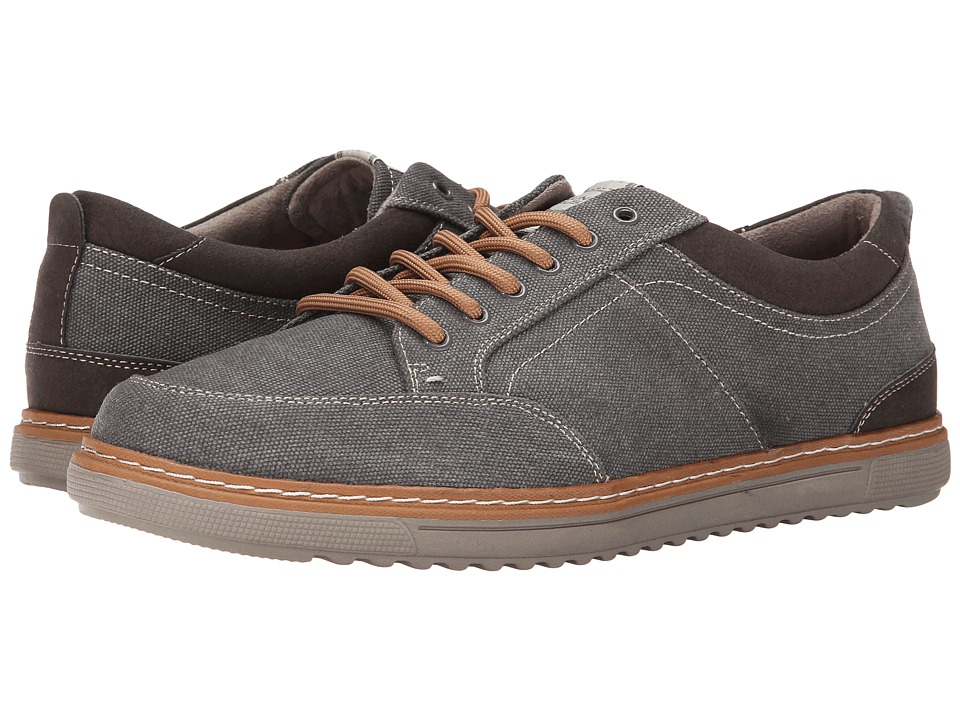 Nunn Bush - Anthony (Gray) Men's Lace up casual Shoes
