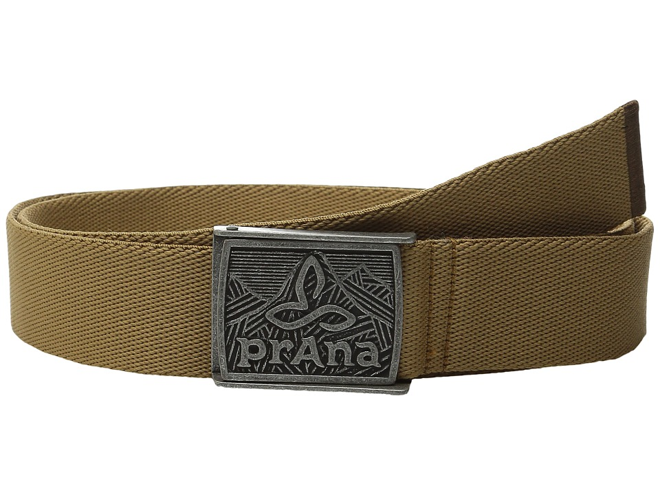 Prana - Union Belt (Desert Khaki) Women's Belts