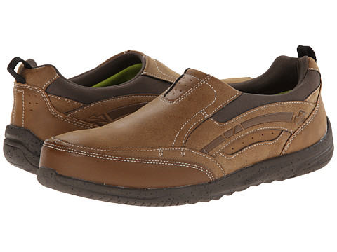 Nunn Bush - Calais Moc Toe Slip-on (Brown Multi) Men