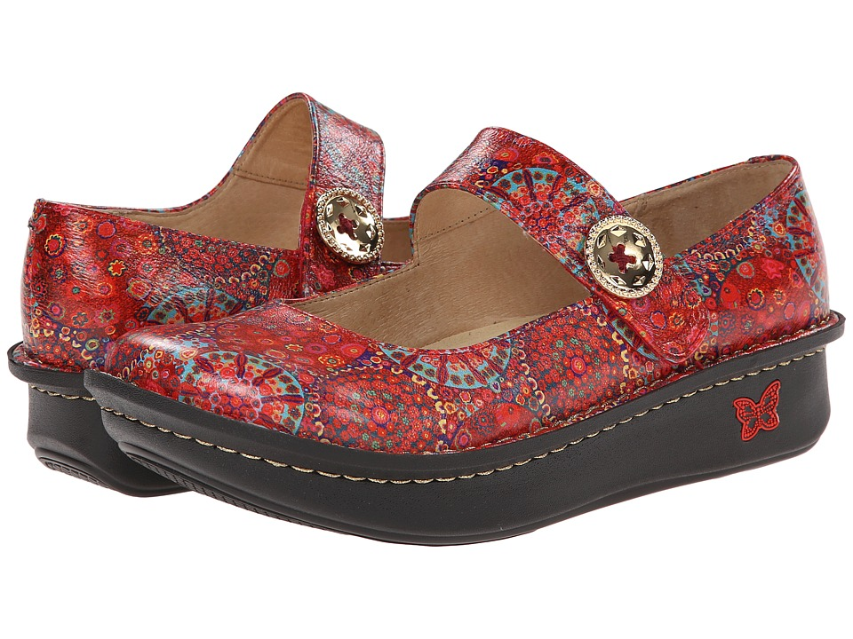 Alegria - Paloma (Red Bloom) Women's Maryjane Shoes