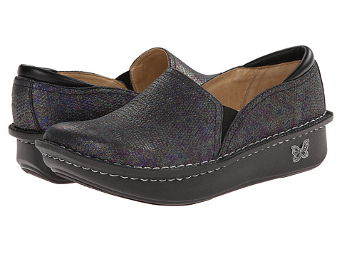 Alegria - Debra Professional (Lizard Sheen) Women's Slip on Shoes