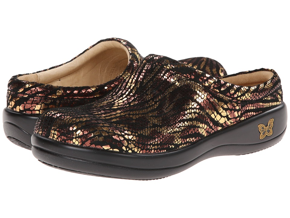 Alegria - Kayla Professional (Golden Jungle) Women's Clog Shoes