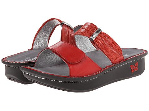 Alegria - Karmen (Tangerine) Women's Sandals