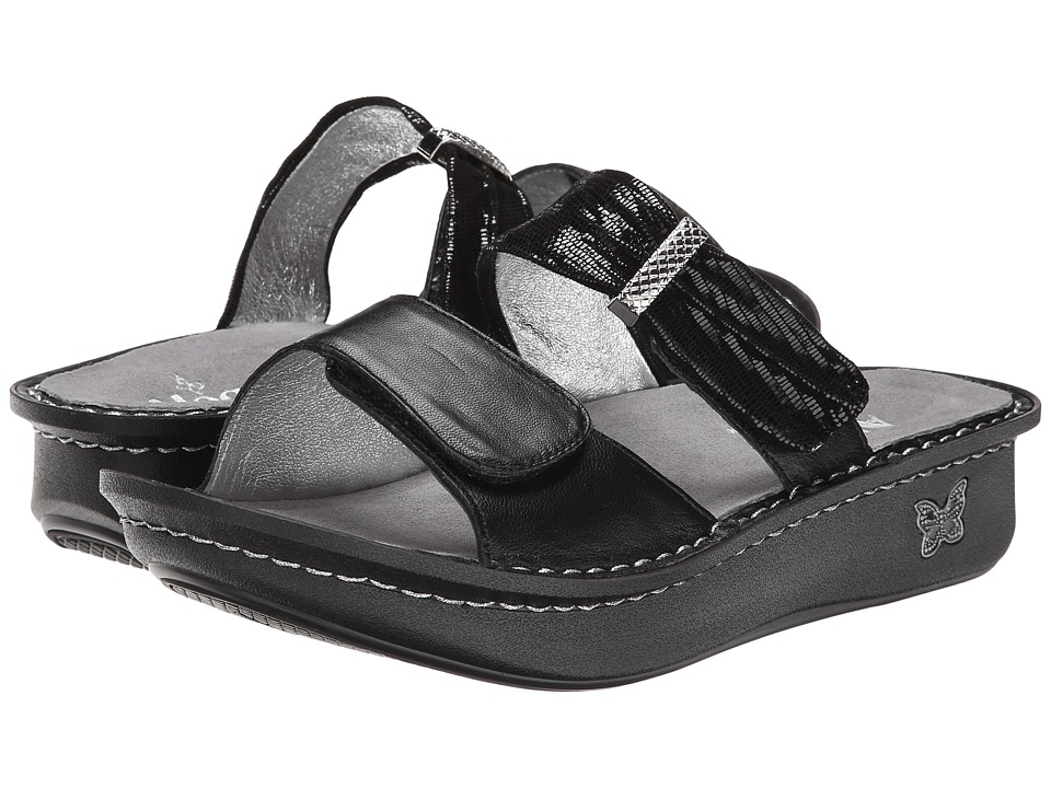 Alegria - Karmen (Black Mixer) Women's Sandals