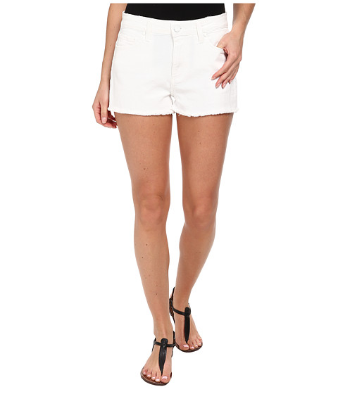 Paige - Callie Short in Distressed Optic White (Distressed Optic White) Women