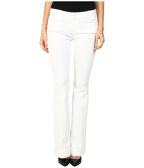 Paige - Fiona Flare in Distressed Optic White (Distressed Optic White) Women's Jeans