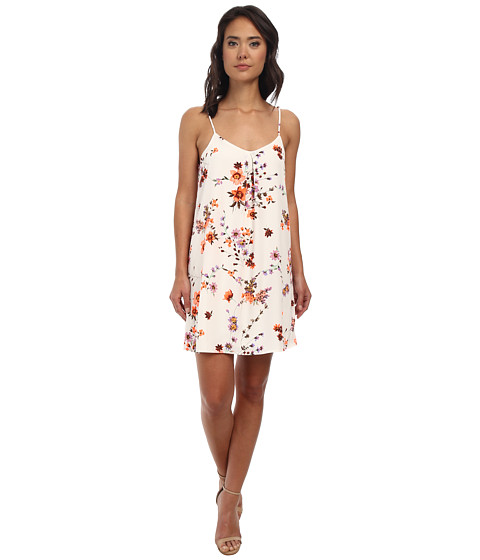 Brigitte Bailey - Pretty Tank Dress (White Floral) Women's Dress