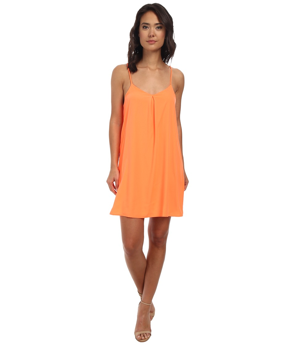 Brigitte Bailey - Pretty Tank Dress (Neon Orange) Women's Dress