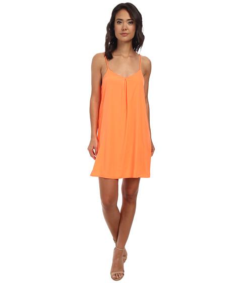 Brigitte Bailey - Pretty Tank Dress (Neon Orange) Women's Dress