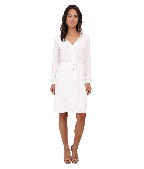 Brigitte Bailey - Orchid Dress (White) Women's Dress