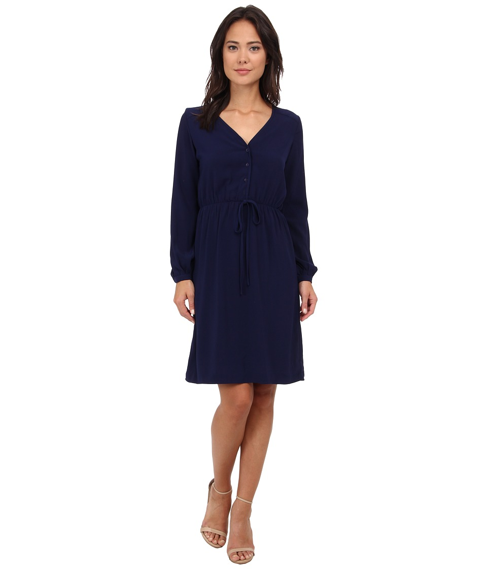 Brigitte Bailey - Orchid Dress (Navy) Women's Dress