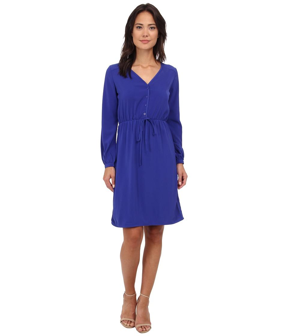 Brigitte Bailey - Orchid Dress (Dusk Blue) Women's Dress