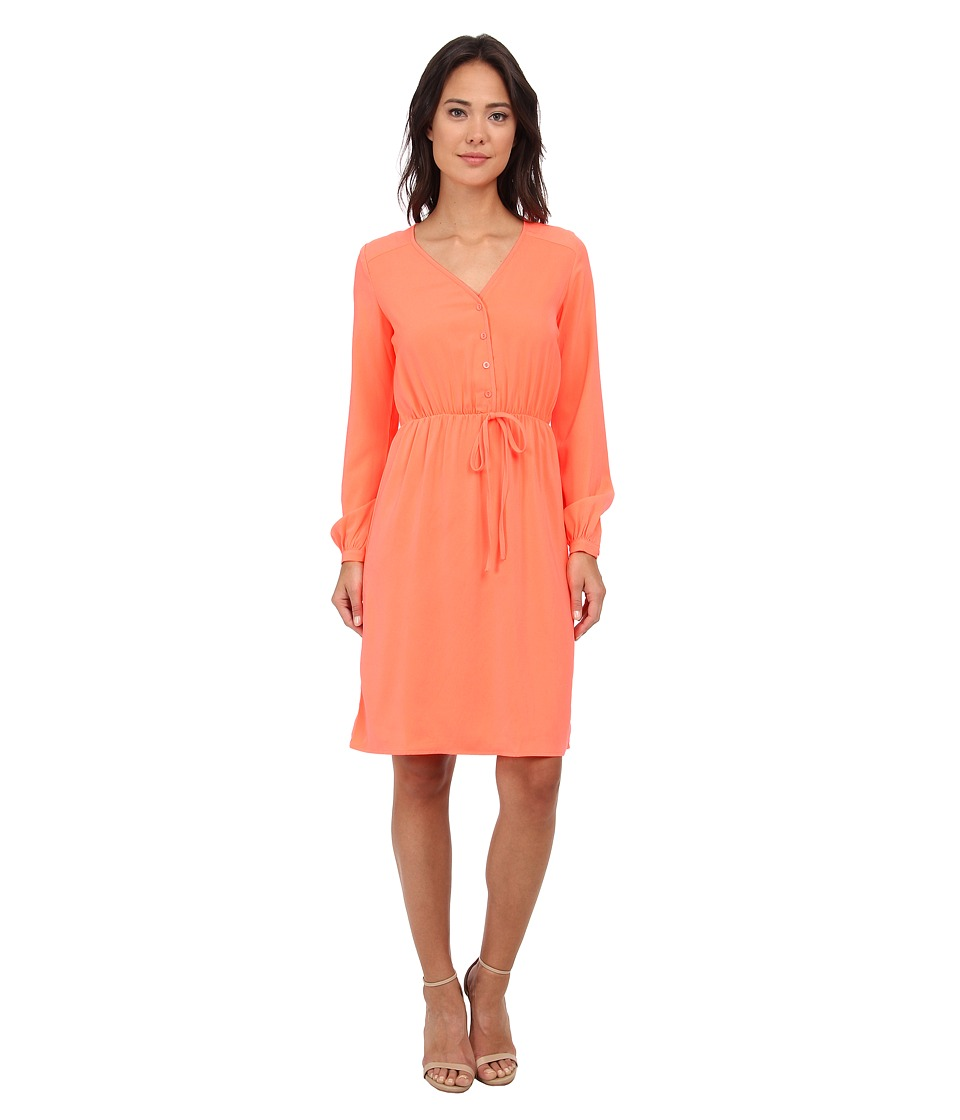 Brigitte Bailey - Orchid Dress (Coral) Women's Dress