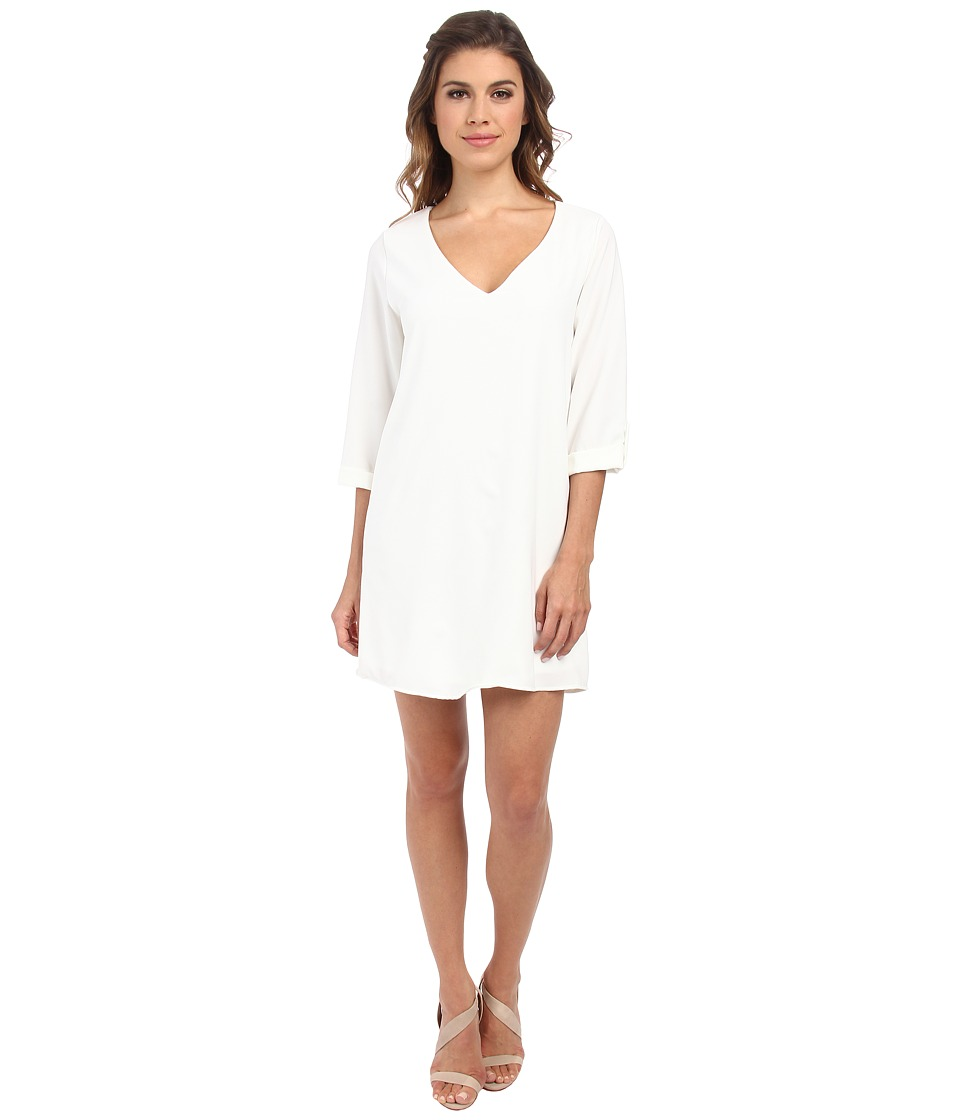 Brigitte Bailey - Candice Dress (White) Women's Dress