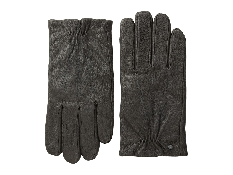 Calvin Klein - Elastic Glove w/ Touch Tip Patches (Black) Extreme Cold Weather Gloves