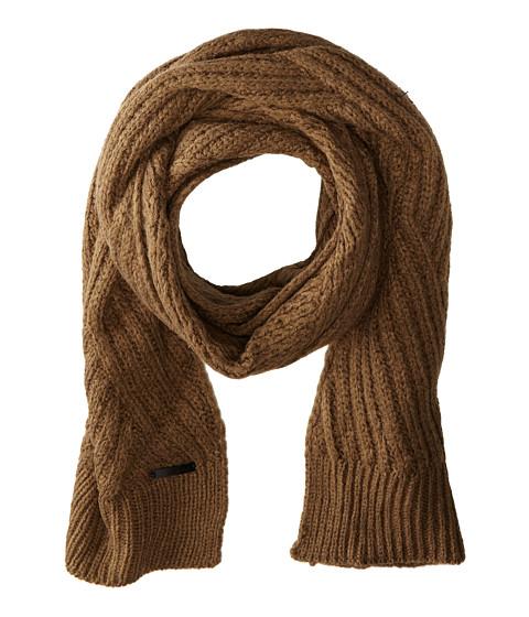 Calvin Klein - Geometric Rib Muffler (Sage) Scarves