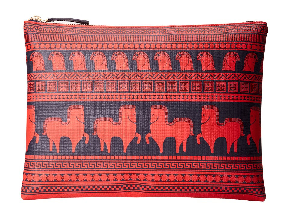 Jonathan Adler - Ani Duche Large Pouch (Red) Travel Pouch
