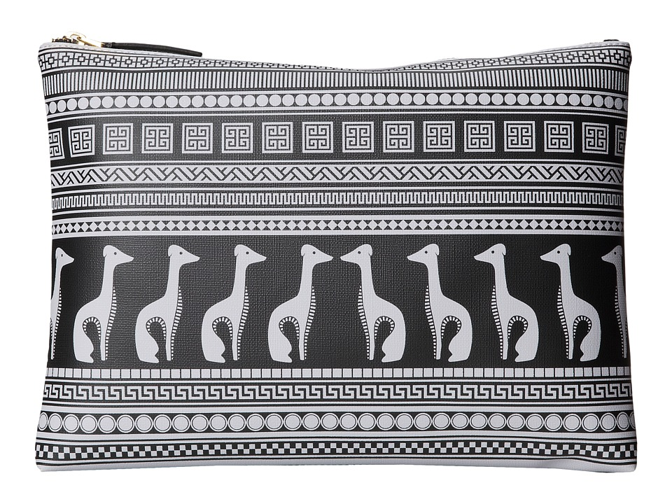 Jonathan Adler - Ani Duche Large Pouch (Grey) Travel Pouch