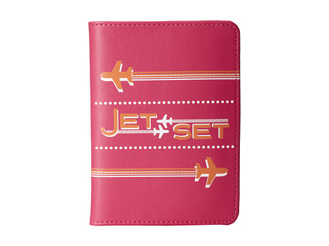 Jonathan Adler - Jet Set Passport Case (Process Magenta) Wallet