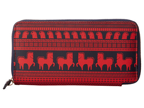 Jonathan Adler - Ani Duche New Conti Zip Wall (Red) Handbags