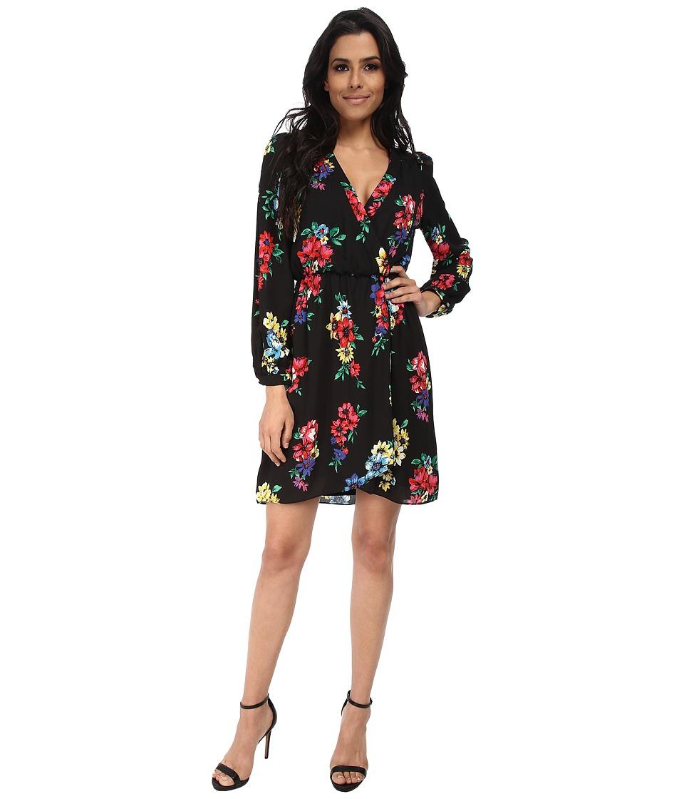 Brigitte Bailey - Demri Lux Dress (Spring Black Floral) Women